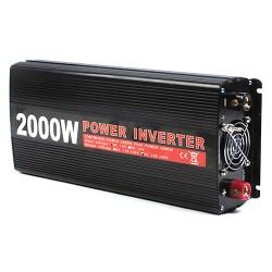 Spannungswandler 12V 2000W Power Inverter Wechselrichter f. Kfz