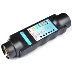 Prüfstecker 12V Stecker Steckdosen Fahrzeugbeleuchtungstecker