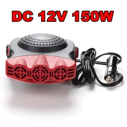 Auto Heizlüfter Neigung verstellbar Ventilator 12V 150W Heizlüfter