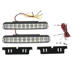 Tagfahrleuchte LED Tagfahrlicht Fahrtrichtungsanzeiger 30W IP64 Leuchte