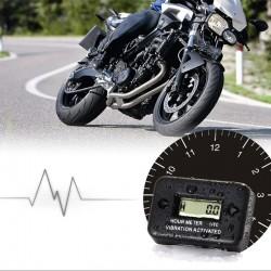 Zeitmesser Vibration Betriebsstundenzähler für Motorrad Wasserdicht