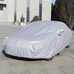 Car Cover Autoschutzdecke Abdeckeplane Ganzgarage Schutzdecke Silber