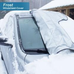 Winterabdeckung Scheibenabdeckung Eisschutz Auto Abdeckung 215x125cm