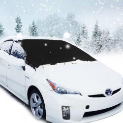 Winterabdeckung Scheibenabdeckung Auto Abdeckung Eisschutz 215x125cm