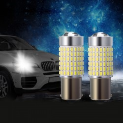 2x LED Standlicht Auto Bremslicht Standlichtbirne Parken 1156 144SMD