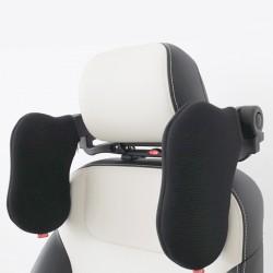 Nackenkissen Autokissen Nackenstütze Autositz Kopfstütze Hals schwarz