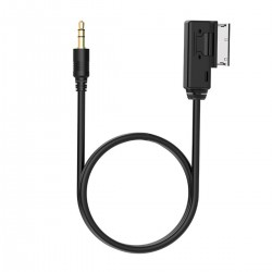 Adapter MP3 Kabel Anschluss Kabel AMI MMI AUX 3.5mm f. Audi