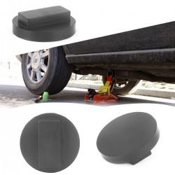 Gummiblock Gummiauflage Gummiklotz Wagenheber Aufnahme Adapter schwarz