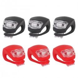 Fahrradlicht Frontlichter Fahrrad Lampe 6er LED Rücklicht f. Fahrrad