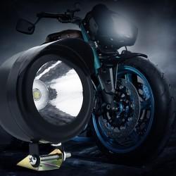 LED Scheinwerfer Scheinwerferleuchte Motorrad off road lights 2er 3W