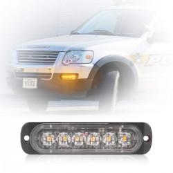 LED Frontblitzer Blitzlicht Warnlicht Notfall Licht 2pcs für Auto LKW