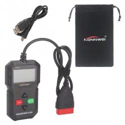 OBD2 Automotor Auto Diagnosegerät Fehler-Code Scanner Werkzeug schwarz