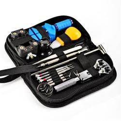30teilig Uhrenmacherwerkzeug Reparatur Uhrenwerkzeug Set + Tasche