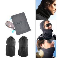 Gesichtsmaske Motorradmaske Mütze Kopfhaube Sturmmaske Schwarz