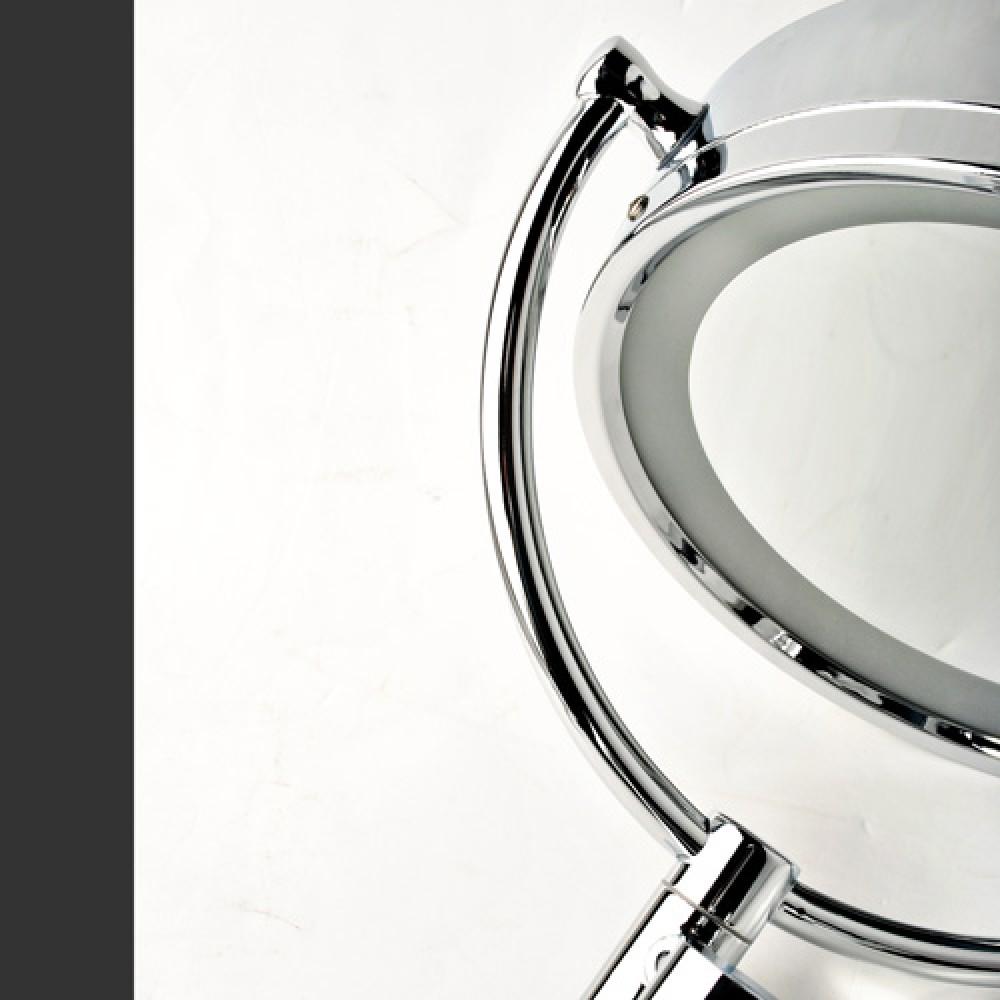 kosmetikspiegel schminkspiegel zweiseitig 10 fach wandspiegel. Black Bedroom Furniture Sets. Home Design Ideas