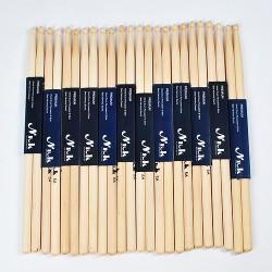 Drumsticks Schlagzeugschläger Schlagzeugsticks Ahornholz 5A 12 Paar