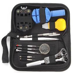 Uhrenwerkzeug Set Reparatur 30tlg + 360 Federstege + Gehäuseschliesser