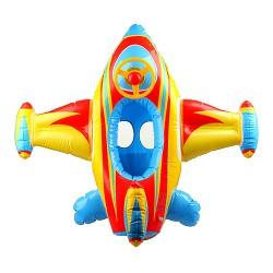 Aufblasbarer Schwimmring Kinderboot Kleinkind Flugzeug Schwimmsitz