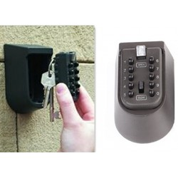 Schlüsselsafe Schlüsseltresor Schlüsselbox zur Wandmontage mit Zahlencode