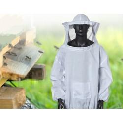 Imkerjacke Sleeve Bienenschutz Bienenhaltung Beekeeping Suit weiß