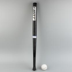 Baseballschläger aus Holz, mit Baseball Baseball Schläger, ca.83 cm