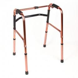 Gehhilfe Gehbock Stehhilfe Laufhilfe Gehstütze faltbar 74-86cm Alu