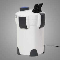 Aquariumaußenfilter 1000 L/h 3 Stufen Filtermaterial Kammerfilter 18W