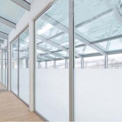 Fensterfolie Sichtschutzfolie Selbstklebend Milchglasfolie 75x600cm