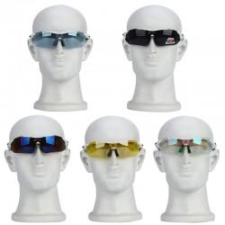Radbrille Sportbrille Sonnenbrille, 5 Wechselgläser für Bergsteigen
