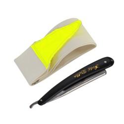 Rasiermesser Set, klappbar, inkl. Streichriemen und Schutzhülle