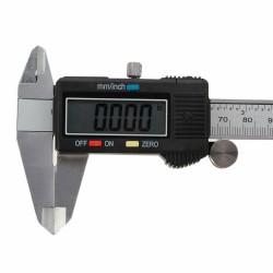Messschieber Schublehre Messgerät LCD-Anzeige mit Etui 0-150mm