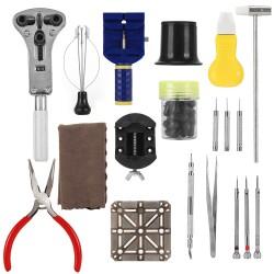 Uhrenwerkzeug Set Uhr Reparatur Tool Kit mit Alukoffer 20teilig