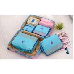 Kleidertaschen Verpackungswürfel Organizer Reise Gepäcktasche 4 Stück