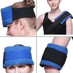 Kompresse Kalt-Warm Mehrfachkompresse für Schmerzen im Rücken blau