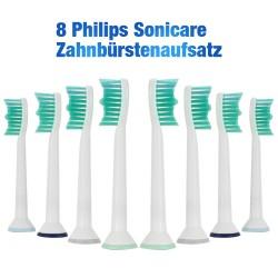 Zahnbürsten für Philips Sonicare 8 Stück demirdental Ersatzbürsten