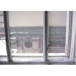 Insektenschutz Fliegengitter Fliegennetz f. Fenster mit Klettband weiß