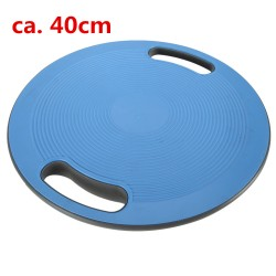 Therapiekreisel Kreisel Wackelbrett Balance Board mit Griff 40cm blau