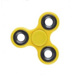 Hand Spinner Fidget Finger Toy Stress Reducer f. Erwachse ABS Gelb