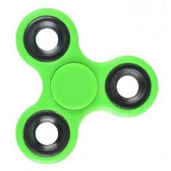 Fidget Finger Hand Spinner Toy Stress Reducer f. Erwachse ABS grün