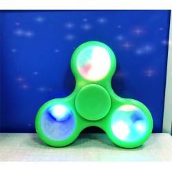 Fidget Spinner LED Finger Pocket Kreisel leuchtende 3 Modus Grün