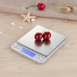 Digitalwaage, Küchenwaage 500*0.01g LCD Feinwaage, TARE-Funktion