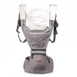 Ergonomische Baumwoll Babytrage Rücken mit Abnehmbarer Kapuze