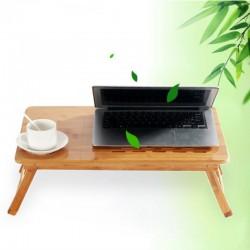 Laptoptisch Notebooktisch mit Schubfach, faltbare, 55 x 35 x 30cm