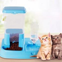 Futterautomat Automatischer Futterspender für Katze und Hund 400ml