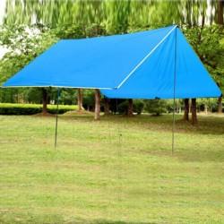 Sonnensegel Strandschirm Sonnenschutz Zelt Strandzelt 3x4m blau