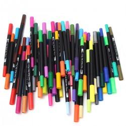 Pinselstift Aquarellstifte Aquarell Wasserfarben Buntstifte 60 Farben
