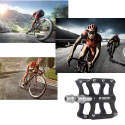 Fahrradpedale Metall Rennrad Pedale Mountainbike schwarz 9/16 Zoll