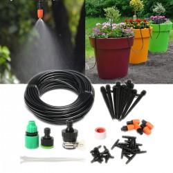 Bewässerungssystem Gartenbewässerung Kit Micro Flow Drip PVC