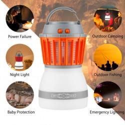 Moskito Lampe Insektenvernichter Campinglampe Mückenkiller UV-Licht
