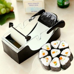 Sushi Rollen Maschine Kit Magic DIY Gadget Roller Gerät Schwarz